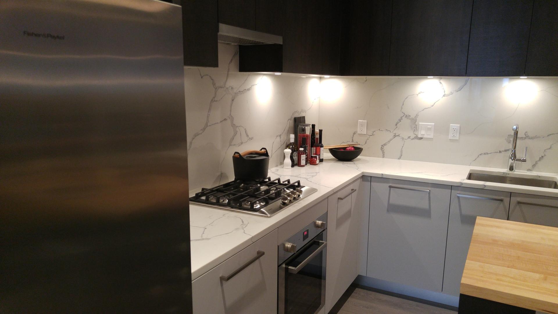 567-clarke-como-b-plan-kitchen-dark-colour-scheme at 567 Clarke and Como (567 Clarke Road, Coquitlam West, Coquitlam)