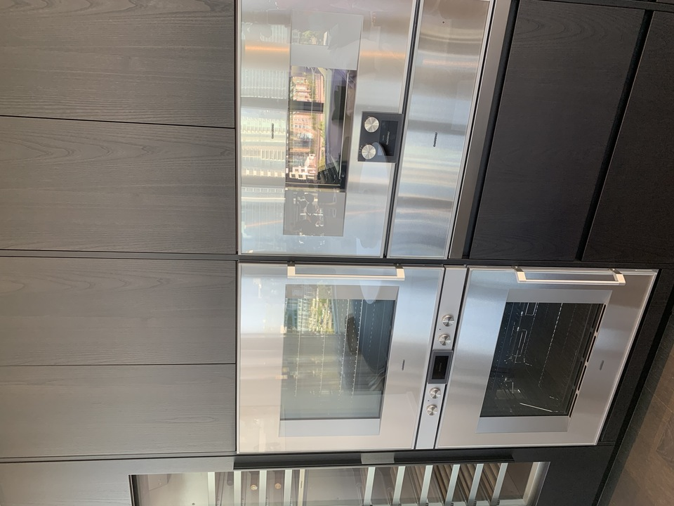 Tesoro Gaggenau integrated appliances at TESORO 1551 Quebec - The Creek Building 5 (1551 Quebec, False Creek, Vancouver West)