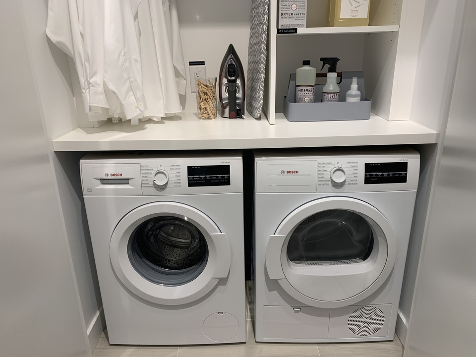 RC side-by-side washer/dryer at RC at CF Richmond Centre (6331 Number 3 Road, Brighouse, Richmond)