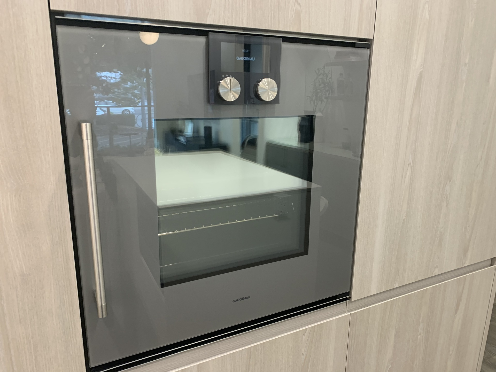 RC one bed Gaggenau wall oven at RC at CF Richmond Centre (6331 Number 3 Road, Brighouse, Richmond)