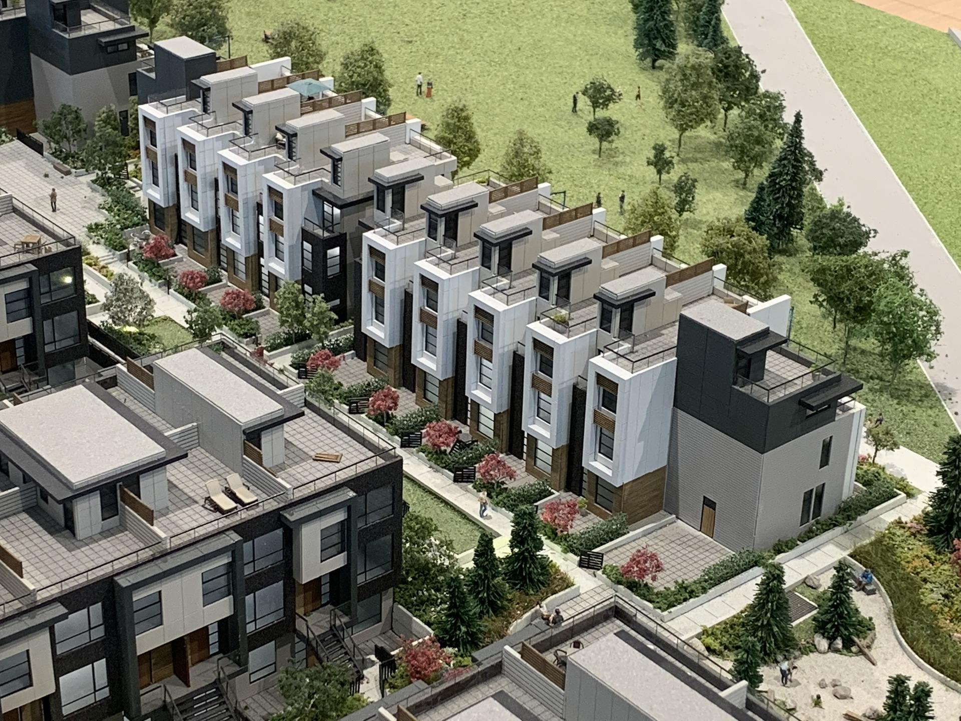Kin - Parkside homes at The Kin Collection (7470 Buller Avenue, Metrotown, Burnaby South)