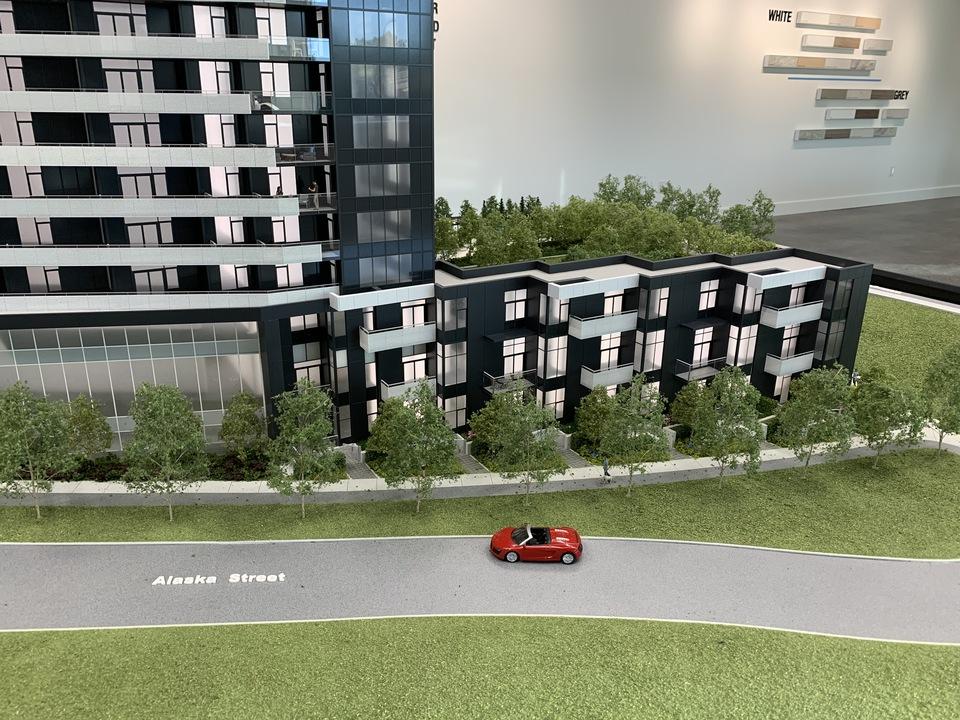 alaska-south-facade at Alaska (4455 Alaska Street, Brentwood Park, Burnaby North)