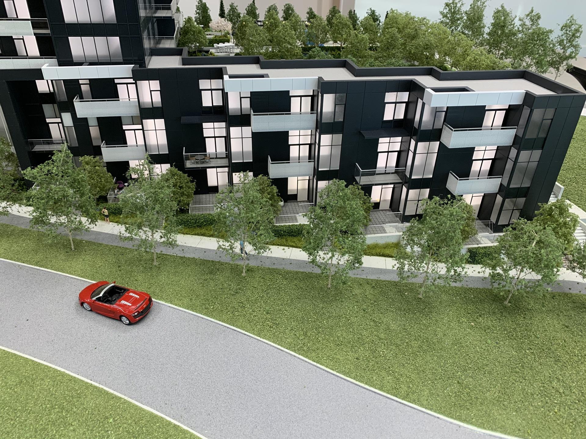 alaska-south-facing-2-level-1-bedroom-lofts-with-2-3-bed-units-on-top-floor at Alaska (4455 Alaska Street, Brentwood Park, Burnaby North)
