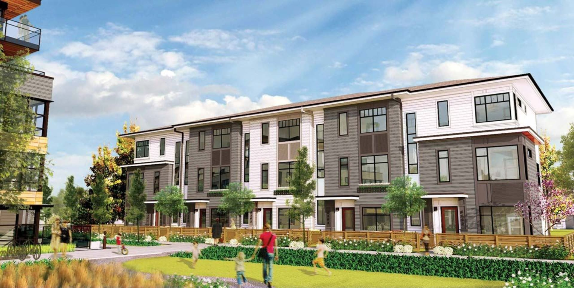 wood-and-water-townhomes at Wood and Water - Fleetwood Townhomes (7858 152 Street, Fleetwood Tynehead, Surrey)