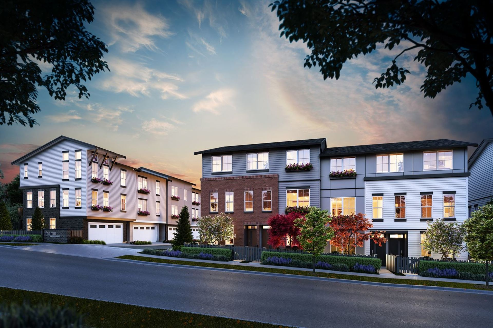 frame-townhomes-langley at Frame Townhomes (8161 202 Street, Willoughby Heights, Langley)