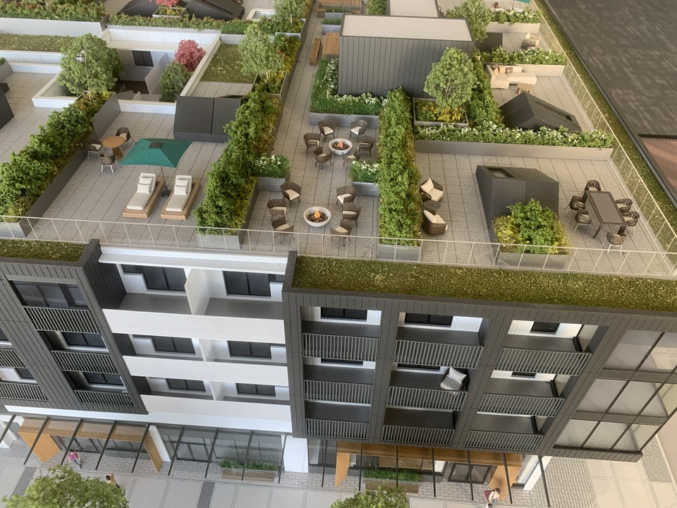 habitat-north-facade-with-roof-decks at Habitat (2520 Guelph Street, Mount Pleasant VE, Vancouver East)