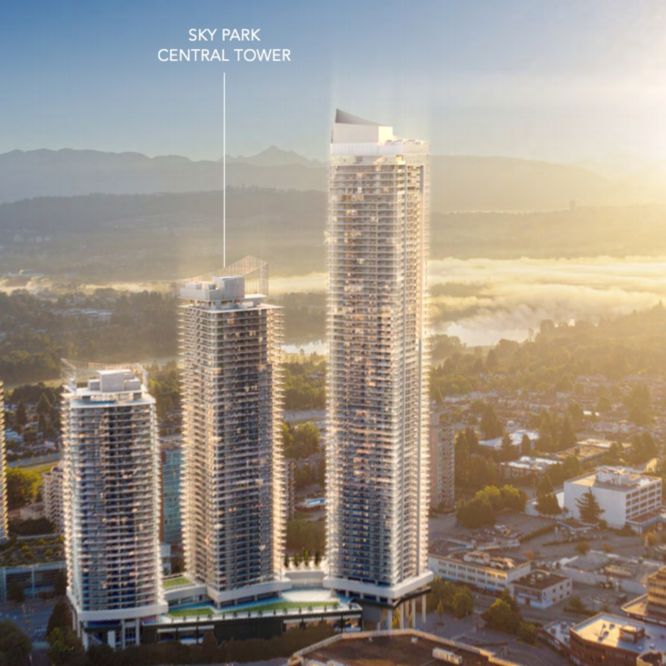 concord-metotown-three-towers at Concord Metrotown (4750 Kingsway, Metrotown, Burnaby South)