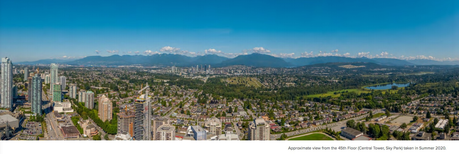 concord-metrotown-45th-floor-view (approx) at Concord Metrotown (4750 Kingsway, Metrotown, Burnaby South)