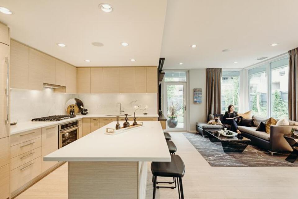 Vittorio by Polygon Homes Interior at Vittorio (6700 Dunblane Avenue, Metrotown, Burnaby South)