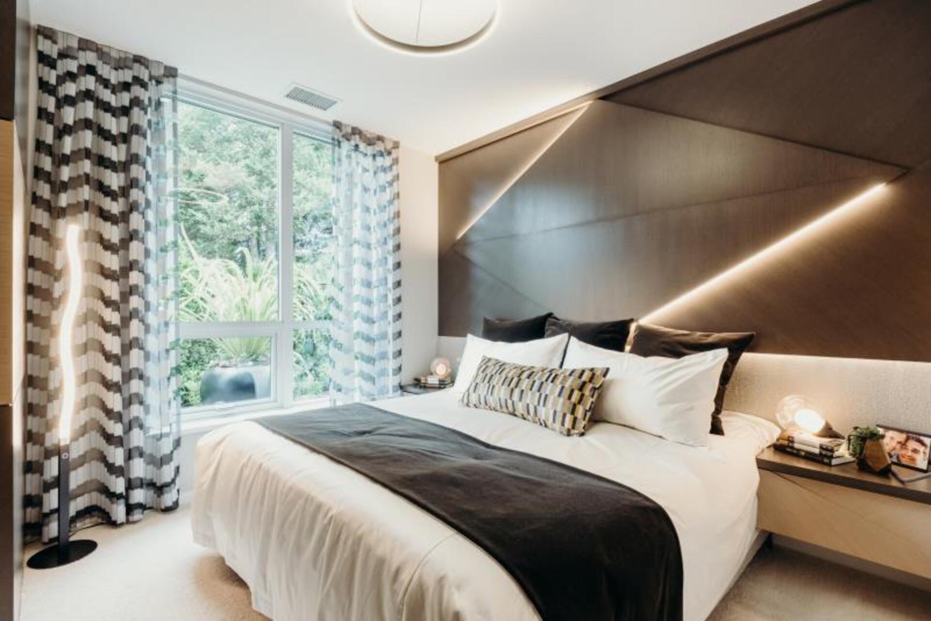 Vittorio by Polygon Bedroom at Vittorio (6700 Dunblane Avenue, Metrotown, Burnaby South)