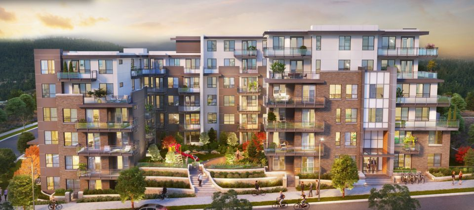 dansey-artists-rendering-exterior at Dansey (599 Dansey Avenue, Coquitlam West, Coquitlam)