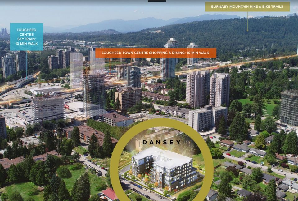 dansey-site-location at Dansey (599 Dansey Avenue, Coquitlam West, Coquitlam)
