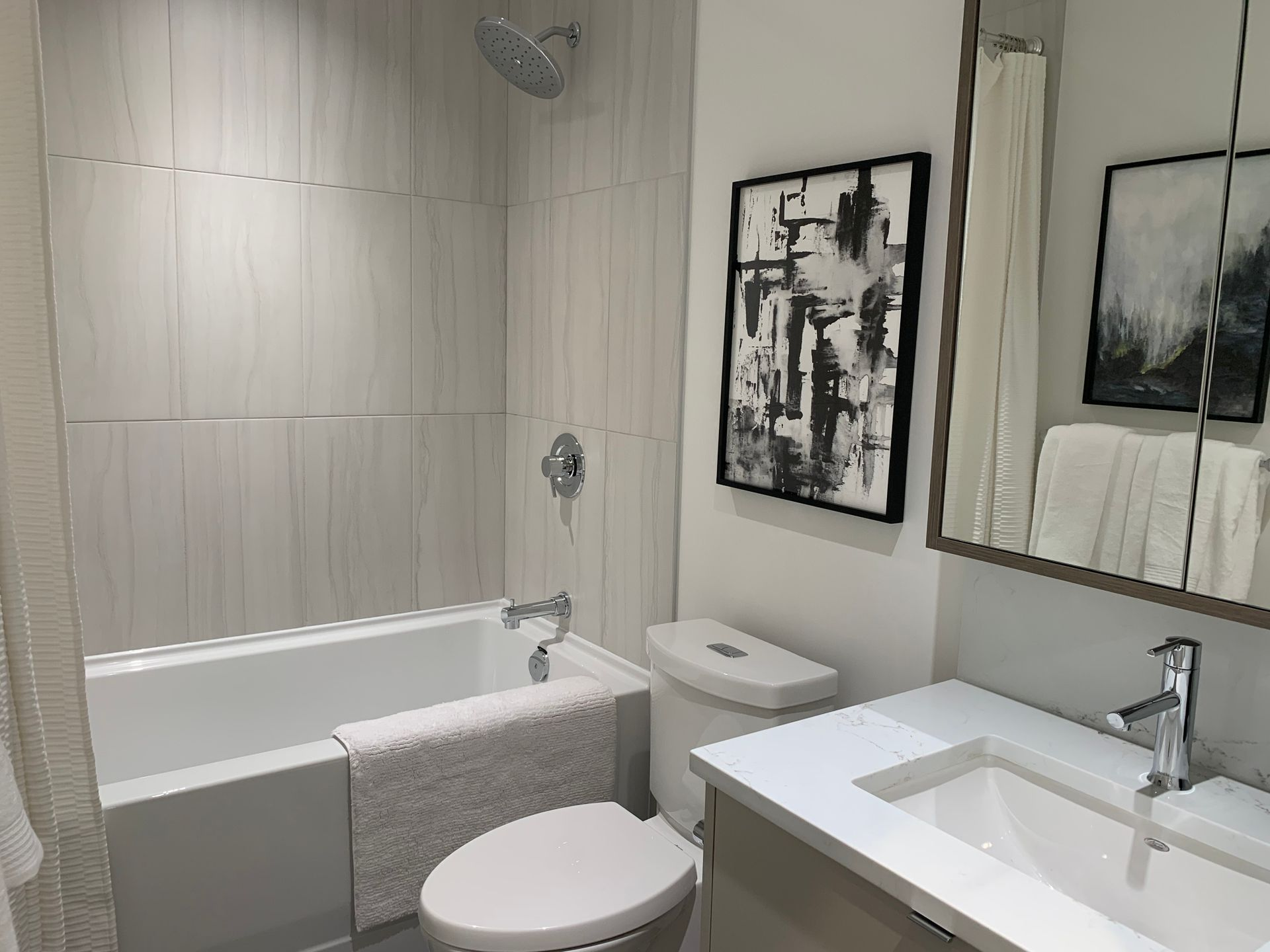vue bathroom in walnut at Vue (638 Whiting Way, Coquitlam West, Coquitlam)