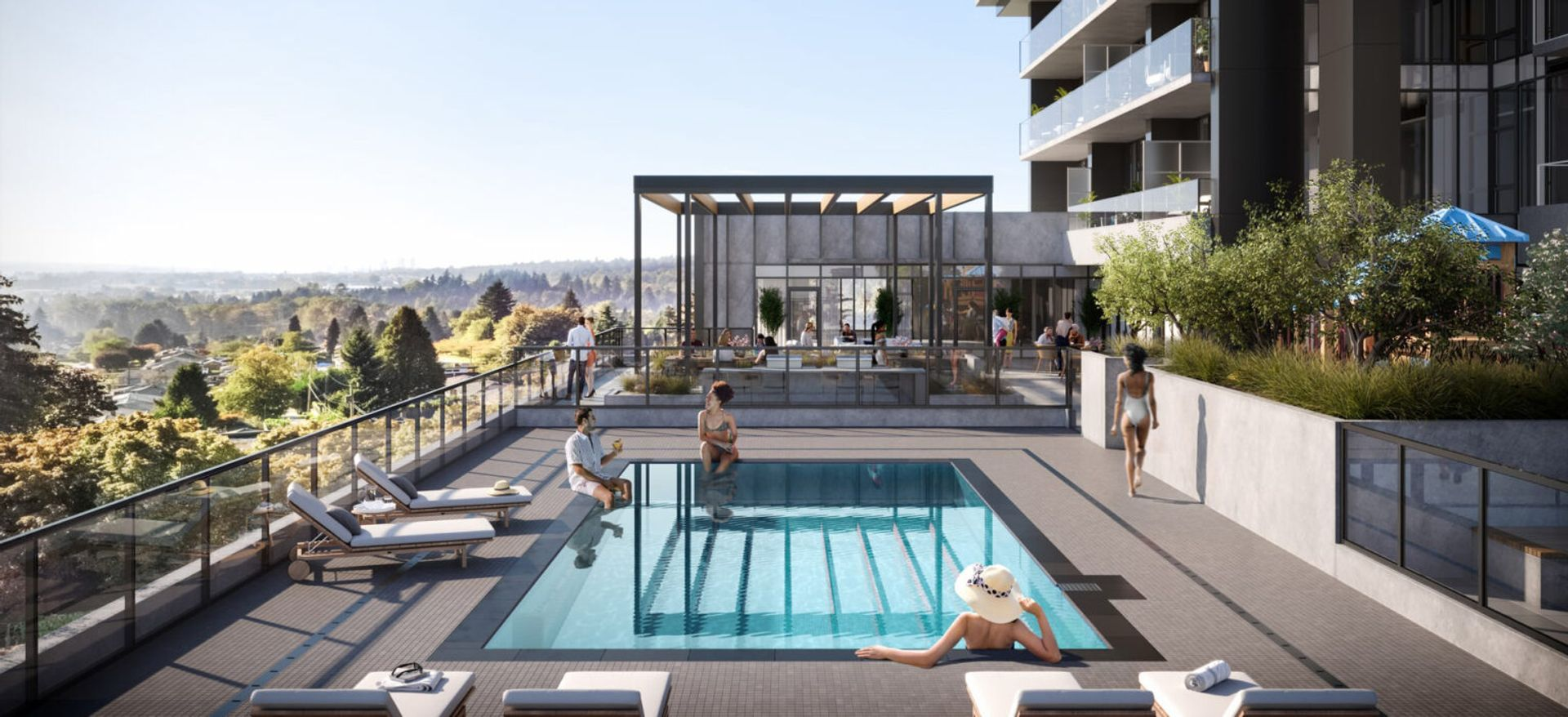 vue-pool at Vue (638 Whiting Way, Coquitlam West, Coquitlam)
