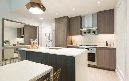 lumina-kitchen-2 at Waterfall  -  Lumina (2425 Beta Avenue, Brentwood Park, Burnaby North)