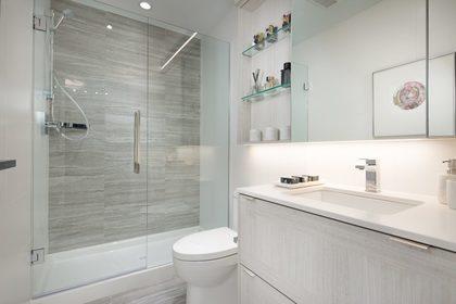 lumina-shower at Waterfall  -  Lumina (2425 Beta Avenue, Brentwood Park, Burnaby North)