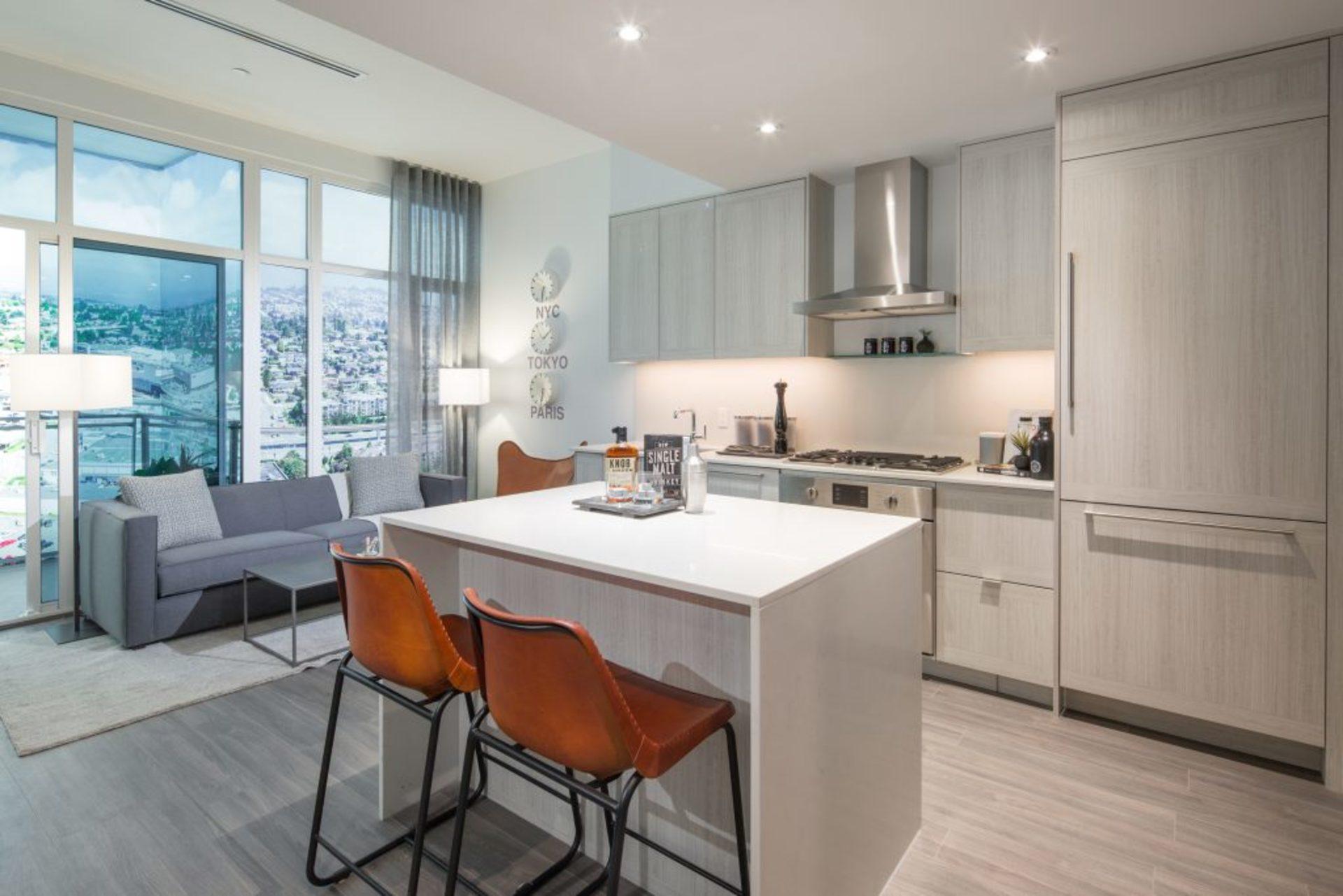 lumina-kitchen at Waterfall  -  Lumina (2425 Beta Avenue, Brentwood Park, Burnaby North)