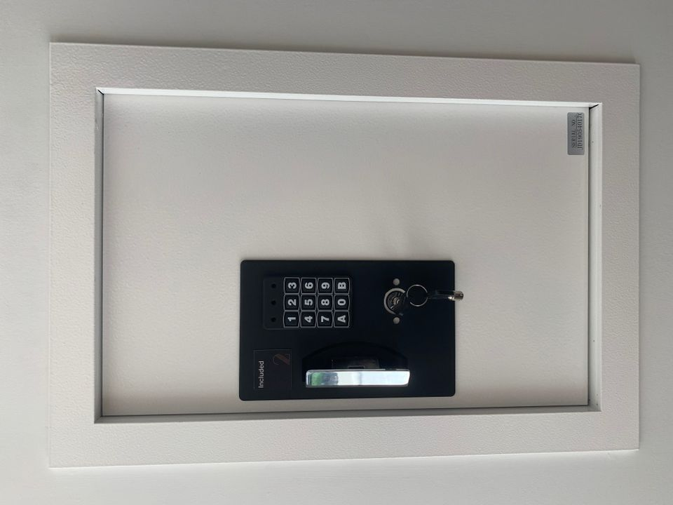 Wall safe included in every home at Two Burrard Place (1223 Hornby Street, Downtown VW, Vancouver West)