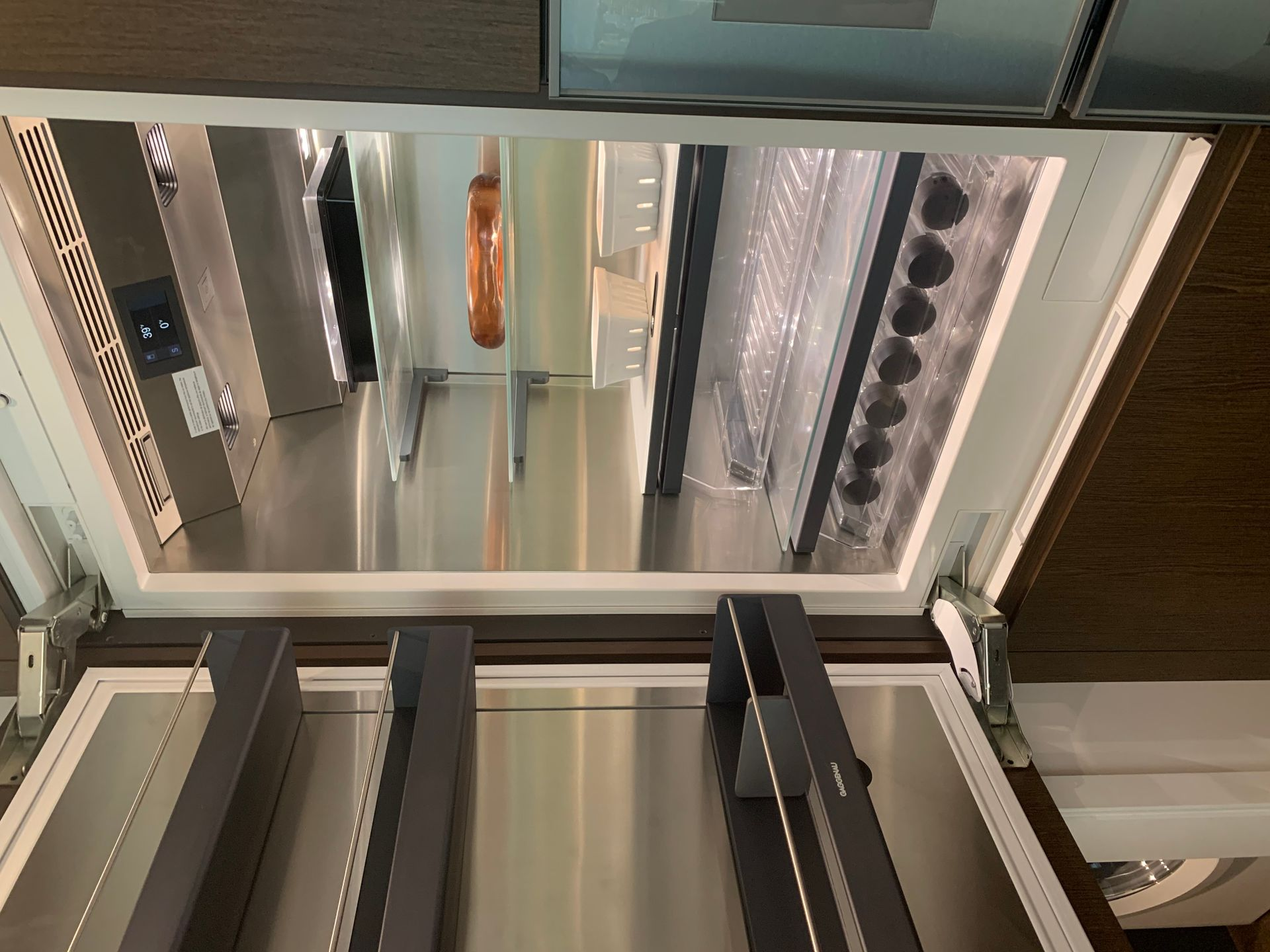 Gaggenau fridge at Two Burrard Place (1223 Hornby Street, Downtown VW, Vancouver West)
