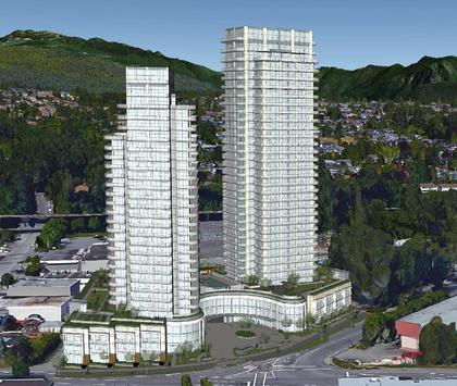 etoile-brentwood-building-rendering at Etoile Brentwood (5345 Goring Street, Brentwood Park, Burnaby North)