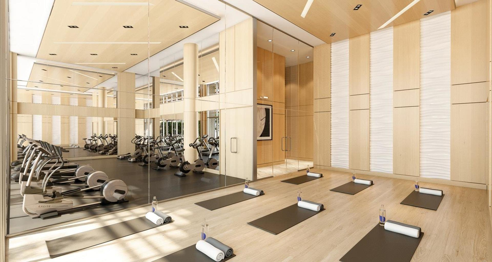Concord Brentwood Hillside West Gym and Yoga at Hillside West Tower 1 and 2 - Concord Brentwood (4720 Lougheed Highway, Brentwood Park, Burnaby North)