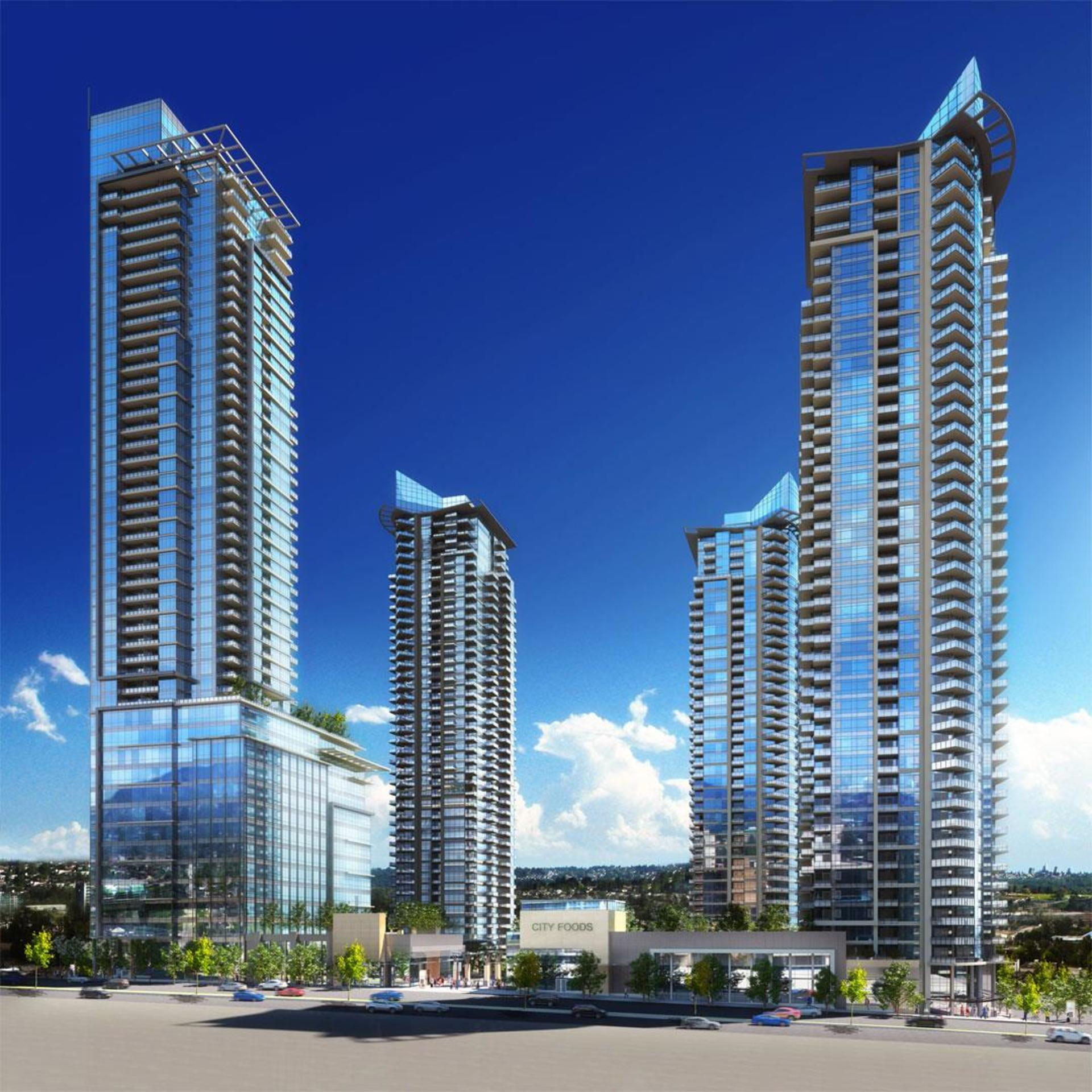 buildings at Cirrus - Solo District 3 (2085 Skyline Court, Brentwood Park, Burnaby North)