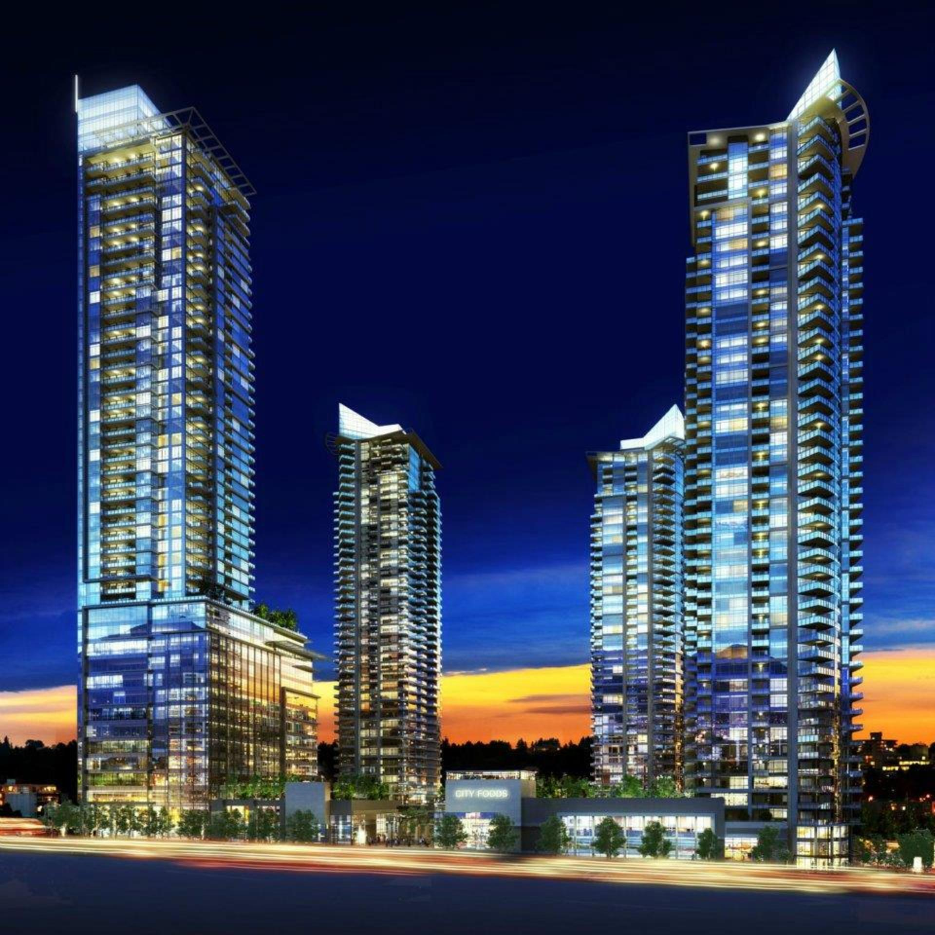 burnaby-4-towerssd at Cirrus - Solo District 3 (2085 Skyline Court, Brentwood Park, Burnaby North)