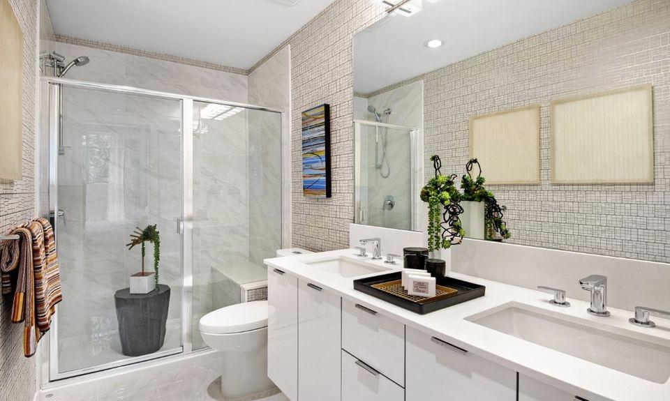 cardinal-bathroom at Cardinal ( Adler Avenue, Coquitlam West, Coquitlam)