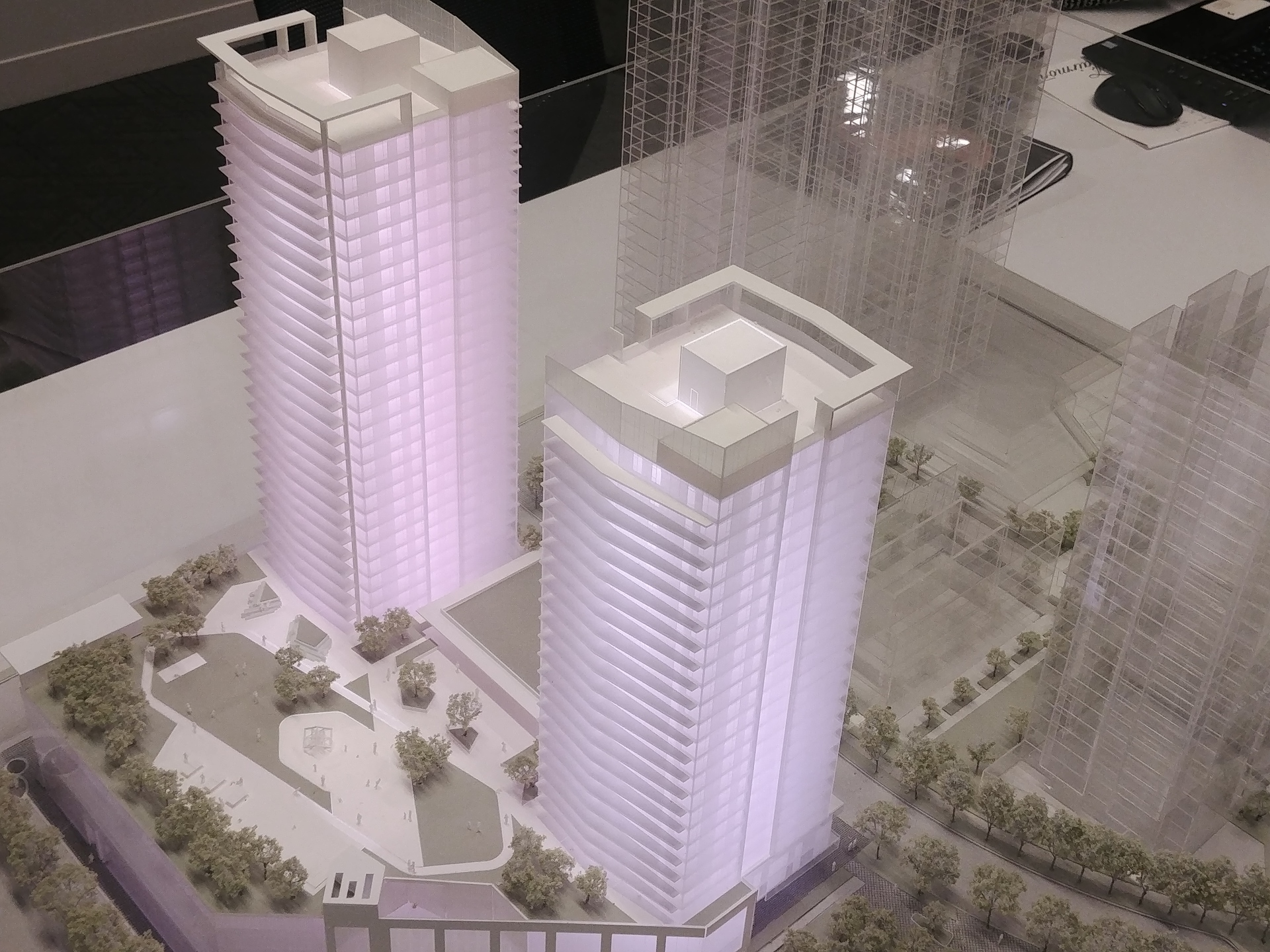 soco-1st-phase-south-tower-at-bottom-of-photo at SOCO (319 North Road, Coquitlam West, Coquitlam)