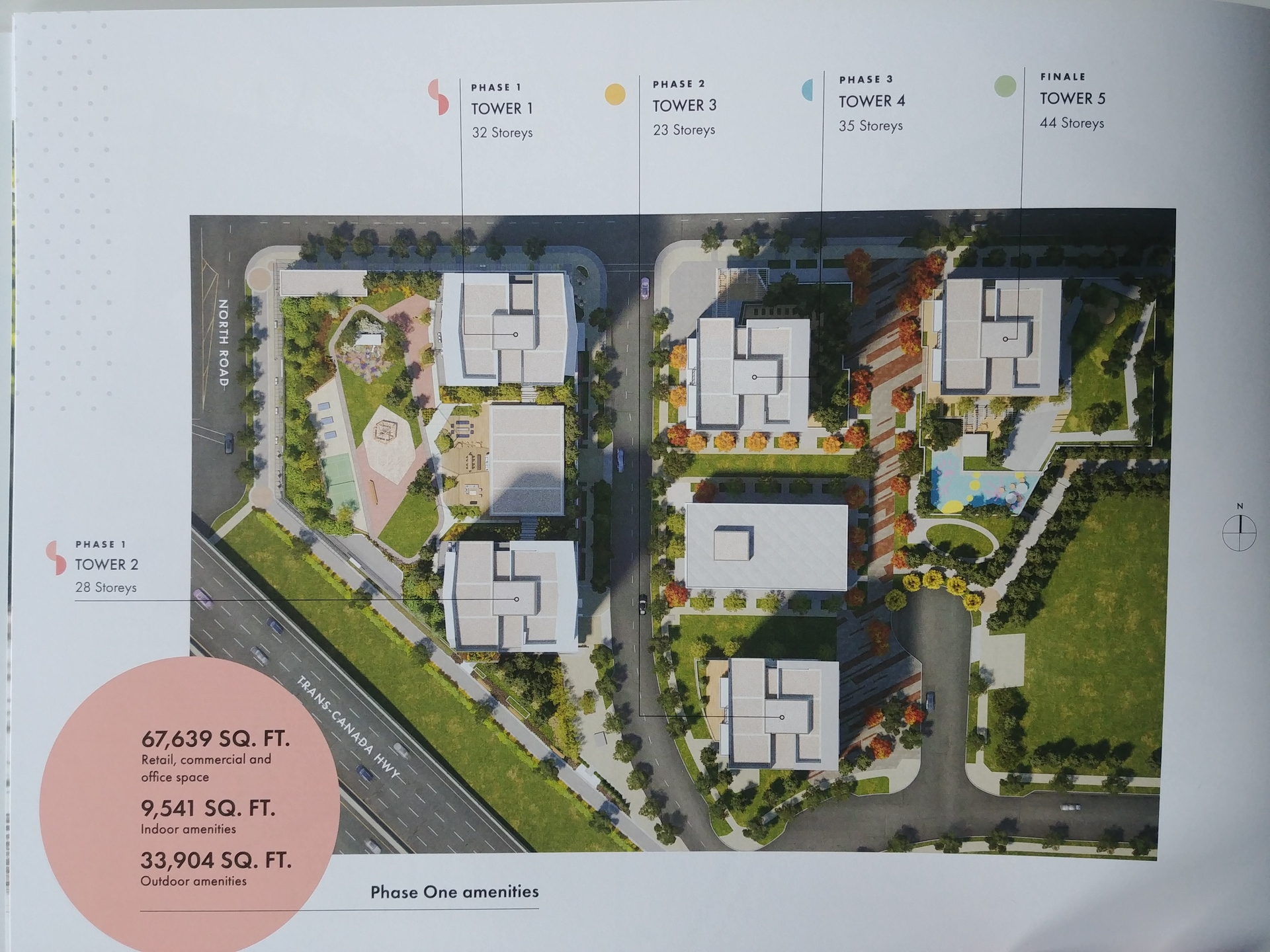 soco-aerial-view-of-master-planned-community at SOCO (319 North Road, Coquitlam West, Coquitlam)