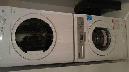 hensley-blomberg-washer-and-dryer at 430 Westview Street, Coquitlam West, Coquitlam