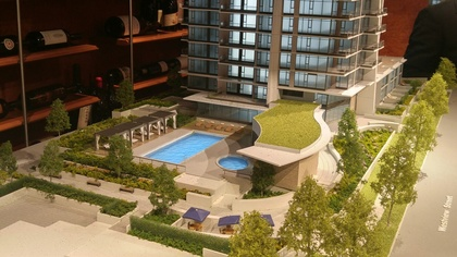 hensley-outdoor-amenity-area-with-pool-jacuzzi at 430 Westview Street, Coquitlam West, Coquitlam