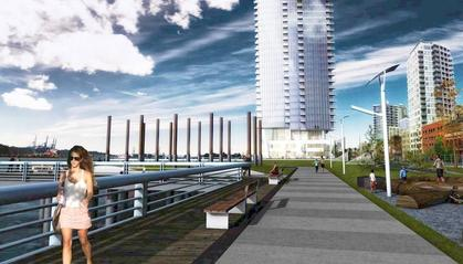 bosa-pier-west-development at 660 Quayside Drive, Quay, New Westminster