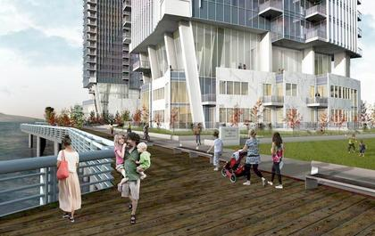 bosa-pier-west-new-west-boardwalk at 660 Quayside Drive, Quay, New Westminster