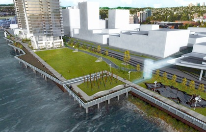 pier-west-pier-park-extension at 660 Quayside Drive, Quay, New Westminster