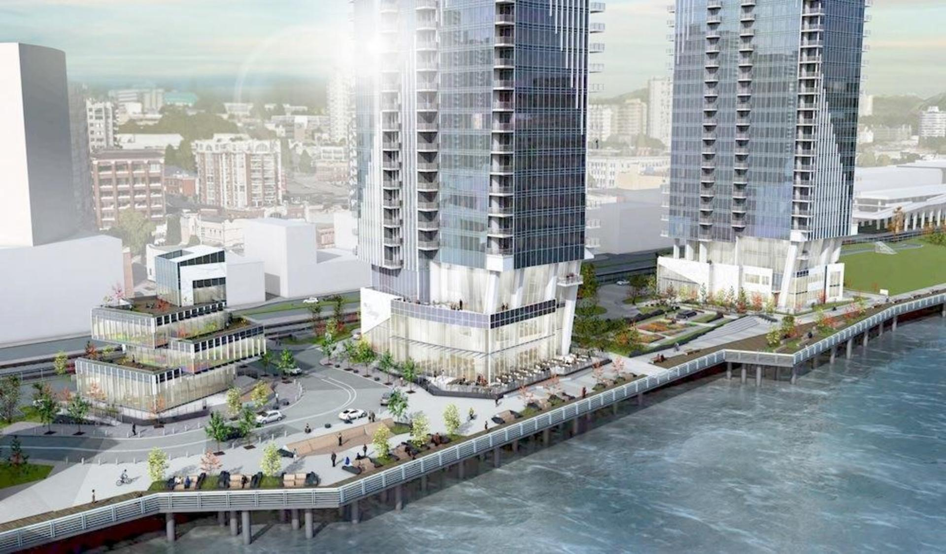 bosa-pier-west-new-westminster-development at 660 Quayside Drive, Quay, New Westminster