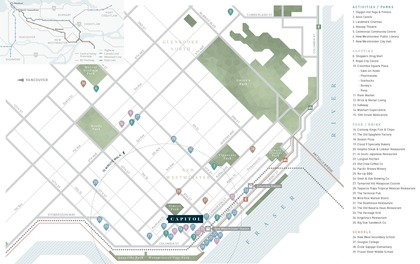capitol-location-map at Capitol (1012 Auckland Street, Downtown NW, New Westminster)