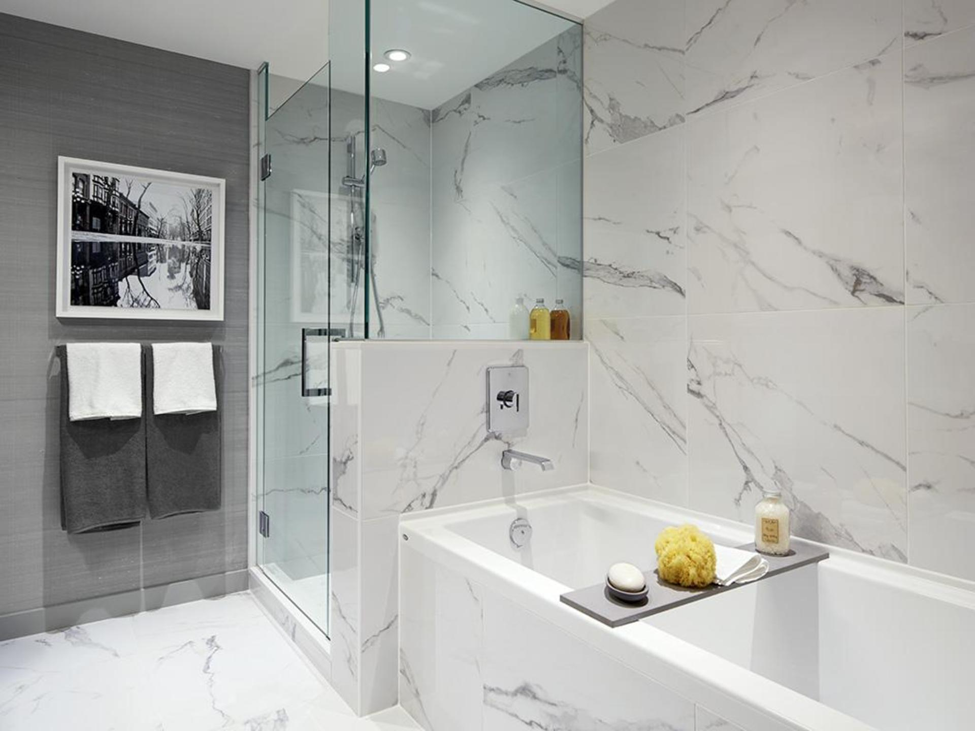 navio-soaker-tub-and-shower at Navio at The Creek (95 East 1st Avenue, Mount Pleasant VE, Vancouver East)