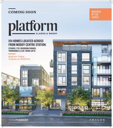 platform-condos-in-coquitlam-advertisement at 2725 Clarke Avenue, Port Moody Centre, Port Moody