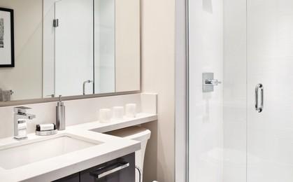 escala-terra-lowrise-bathroom at Escala (1788 Gilmore Avenue, Brentwood Park, Burnaby North)