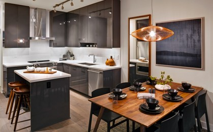 escala-terra-lowrise-kitchen at Escala (1788 Gilmore Avenue, Brentwood Park, Burnaby North)