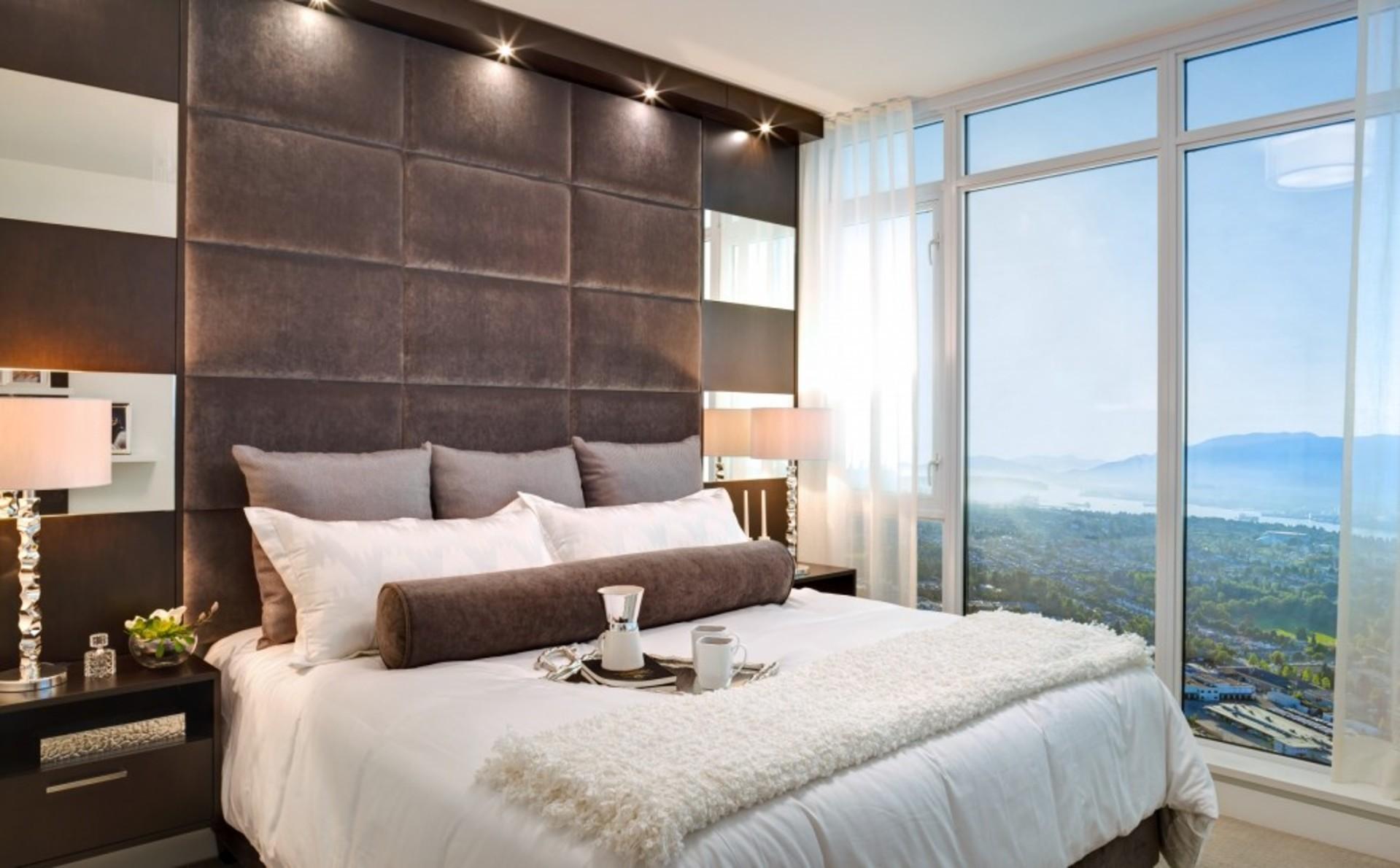 escala-bedroom at Escala (1788 Gilmore Avenue, Brentwood Park, Burnaby North)