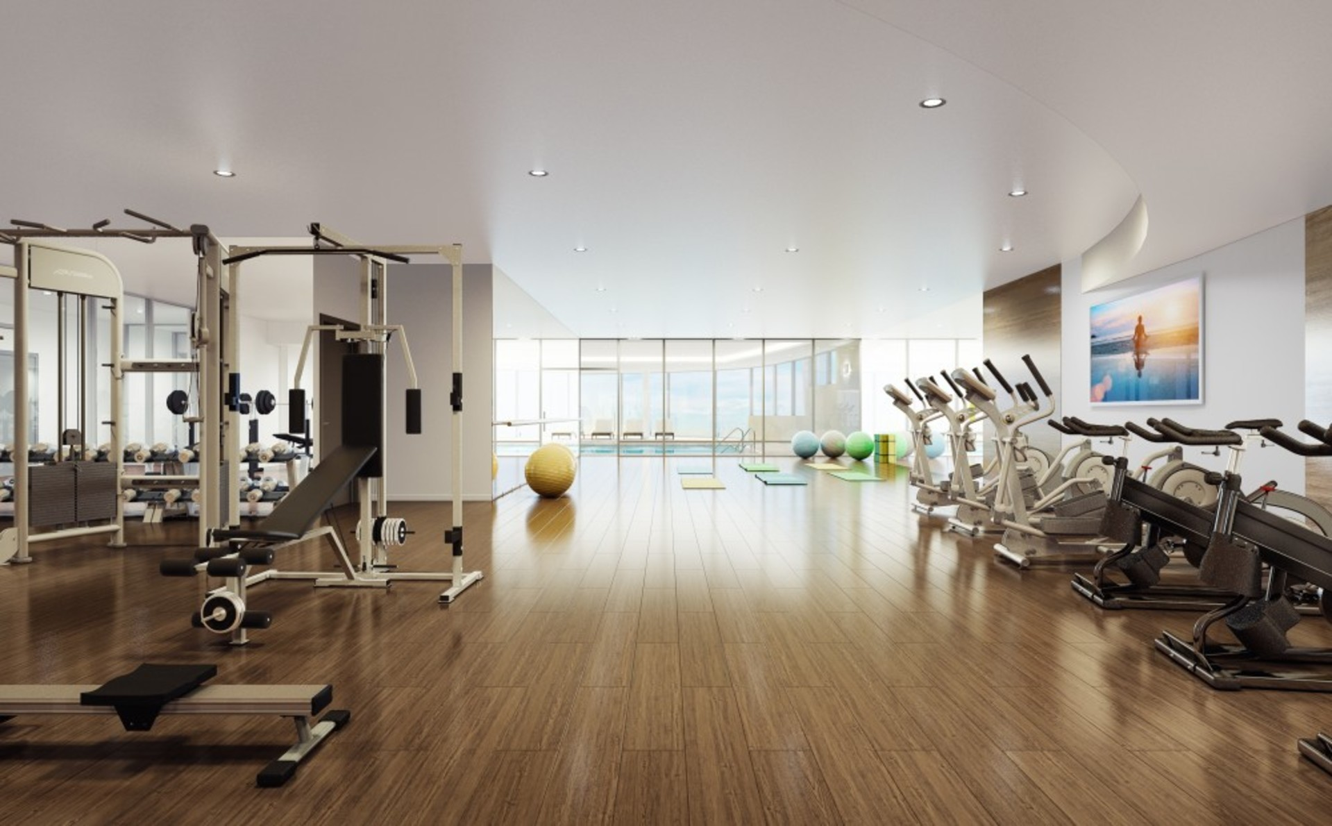 escala-brentwood-gym at Escala (1788 Gilmore Avenue, Brentwood Park, Burnaby North)