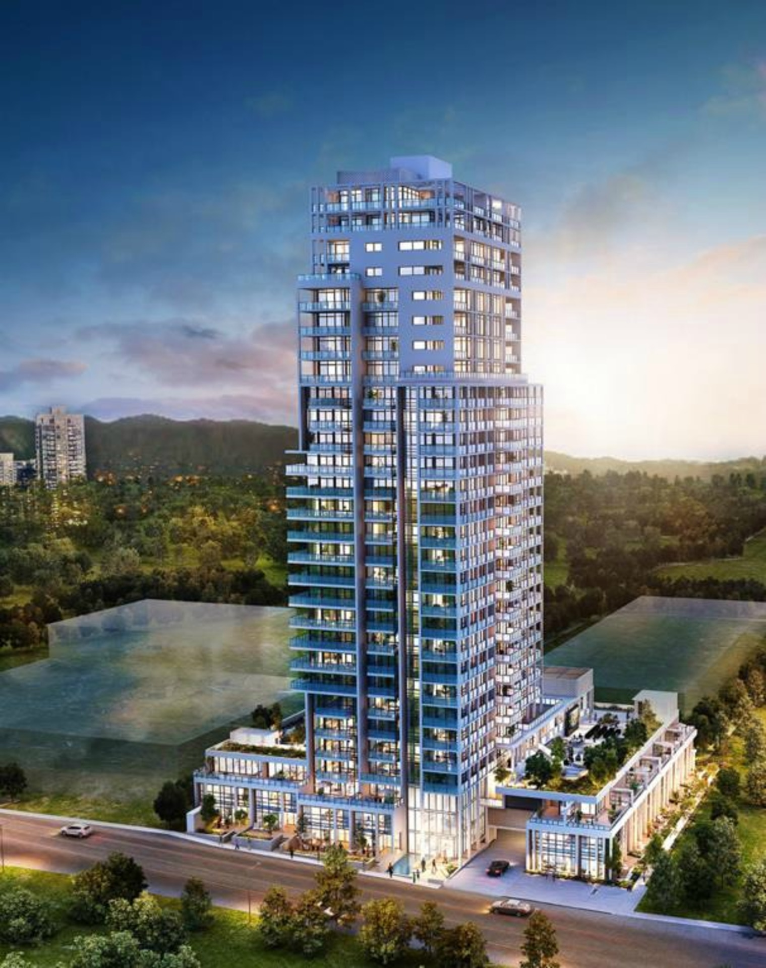 milano-burnaby-brentwood-highrise at Milano (2378 Alpha Avenue, Brentwood Park, Burnaby North)