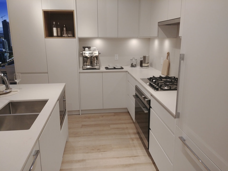 akimbo-2-bed-kitchen-in-light-colour-scheme at Akimbo (4285 Dawson Street, Brentwood Park, Burnaby North)