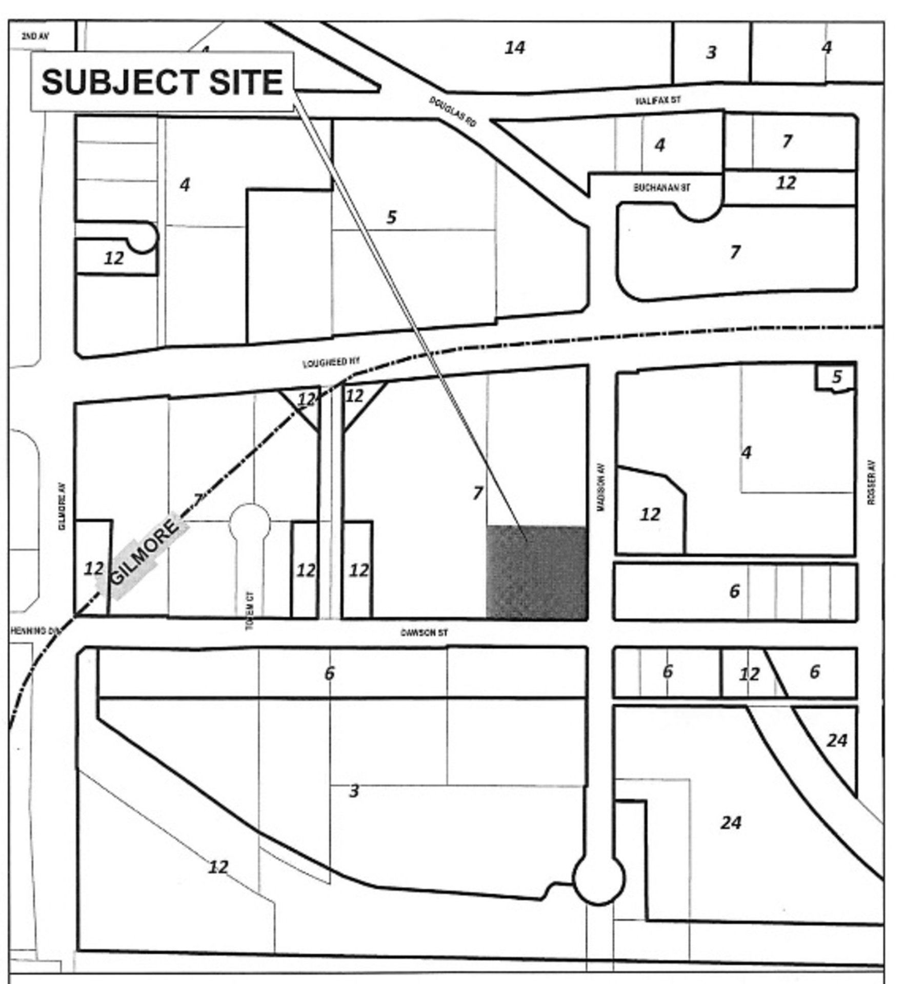 Akimbo in Brentwood Site Plan (4285 Dawson Street) at Akimbo (4285 Dawson Street, Brentwood Park, Burnaby North)