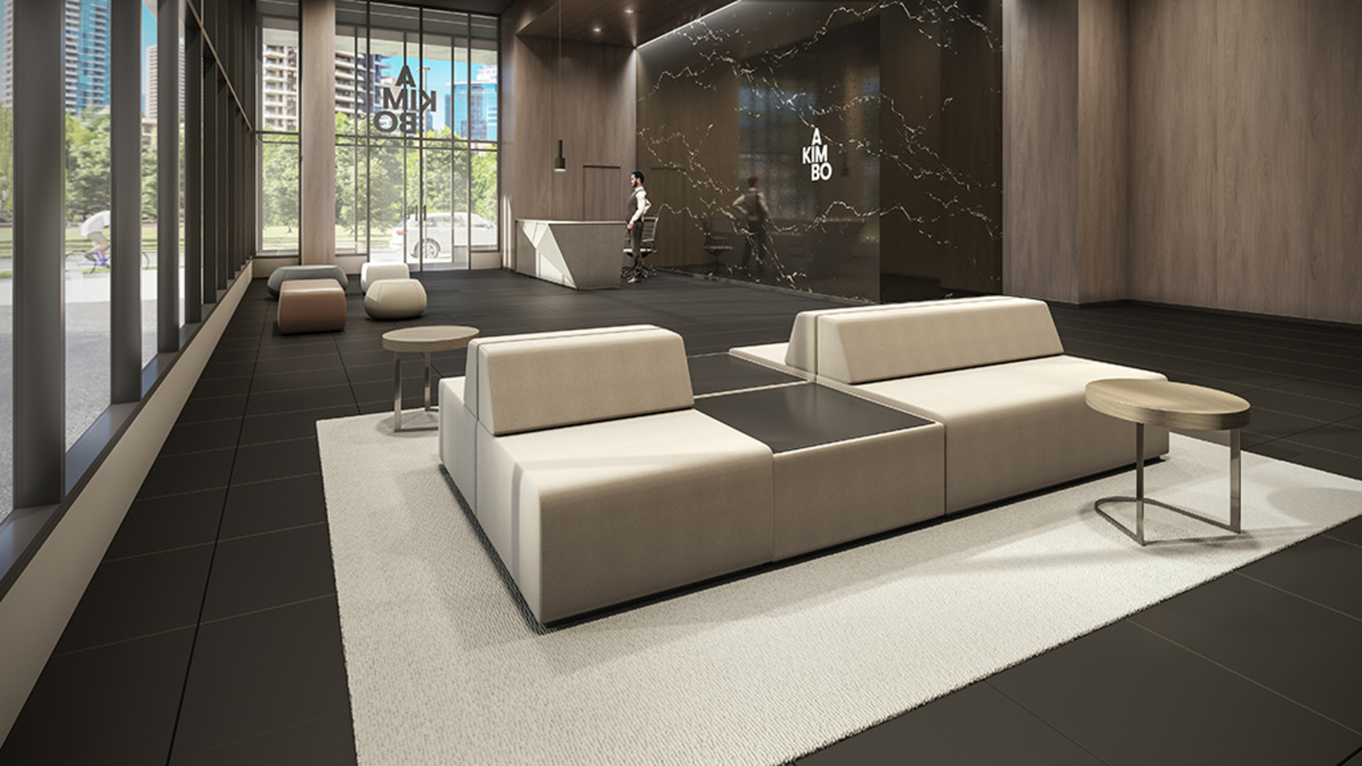 akimbo-interior-lobby at Akimbo (4285 Dawson Street, Brentwood Park, Burnaby North)