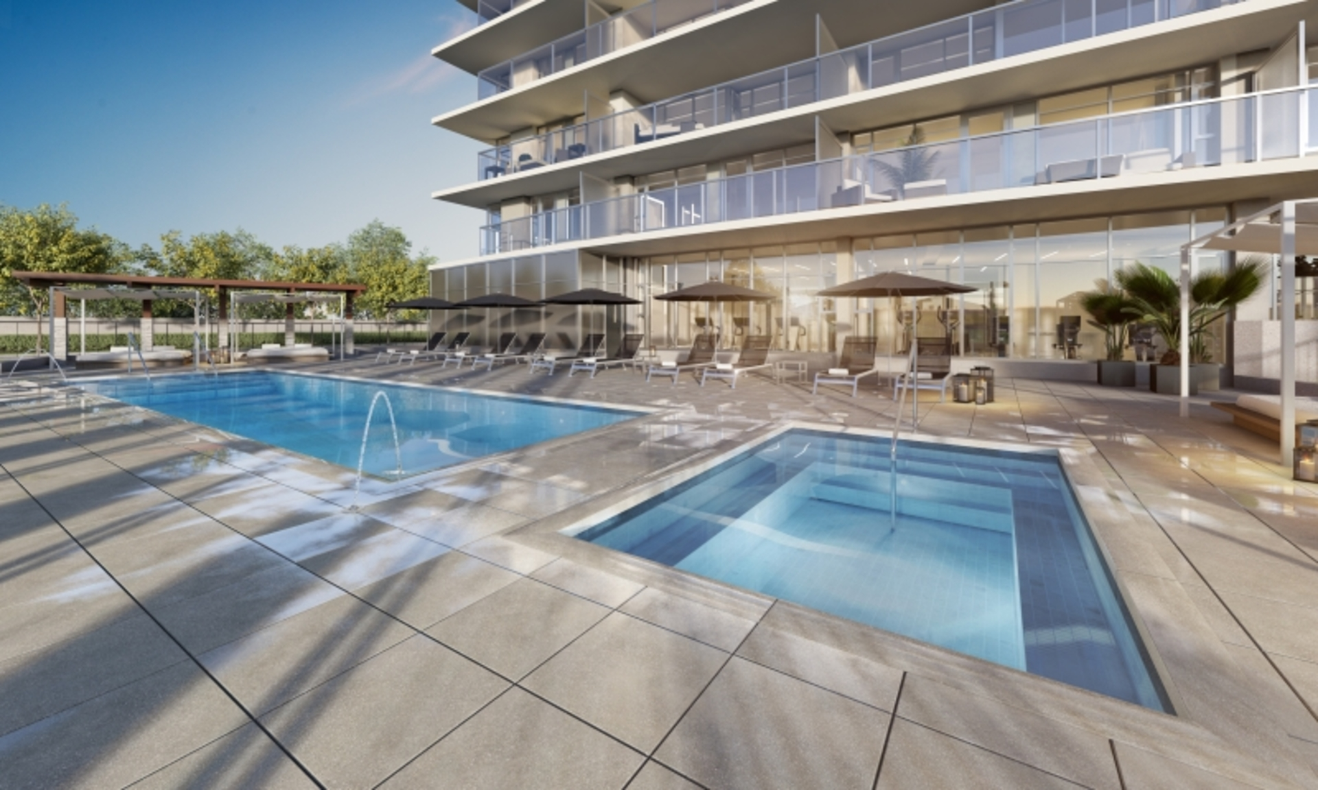 fulton-house-by-polygon-pool at Fulton House (2388 Madison Avenue, Brentwood Park, Burnaby North)