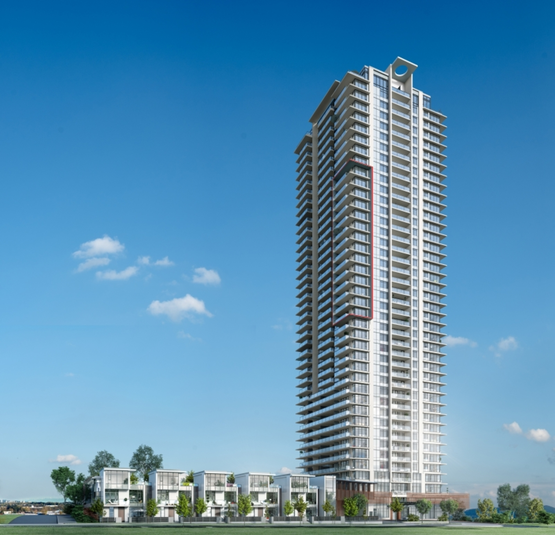 fulton-house-by-polygon-tower-and-townhomes at Fulton House (2388 E Madison Avenue, Brentwood Park, Burnaby North)