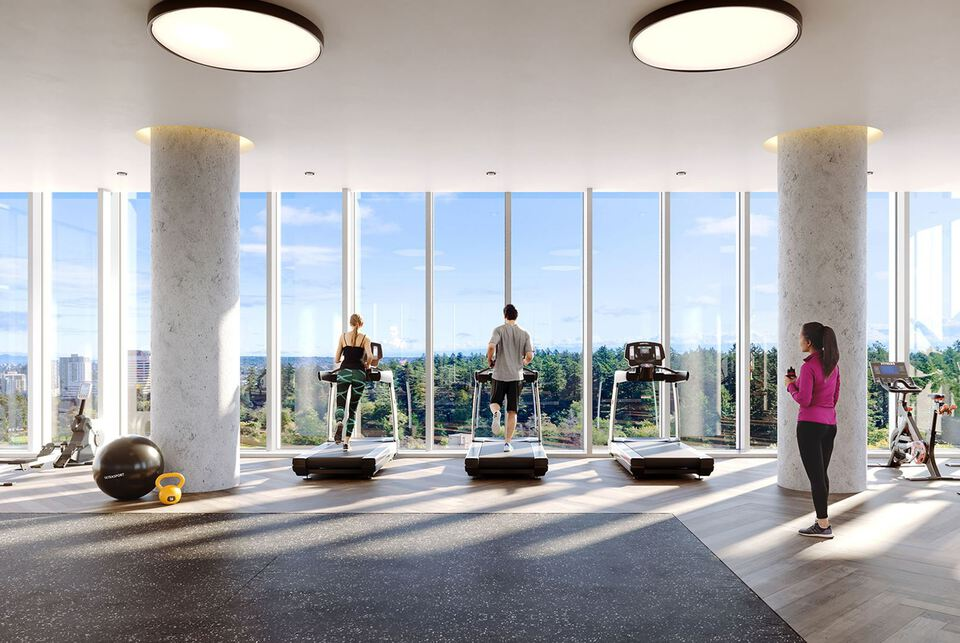 central-park-house-fitness-facility-rendering at Central Park House (5977 Wilson Avenue, Metrotown, Burnaby South)